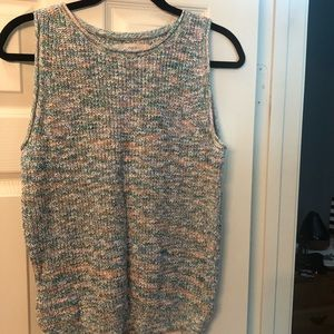 Loft sweater tank